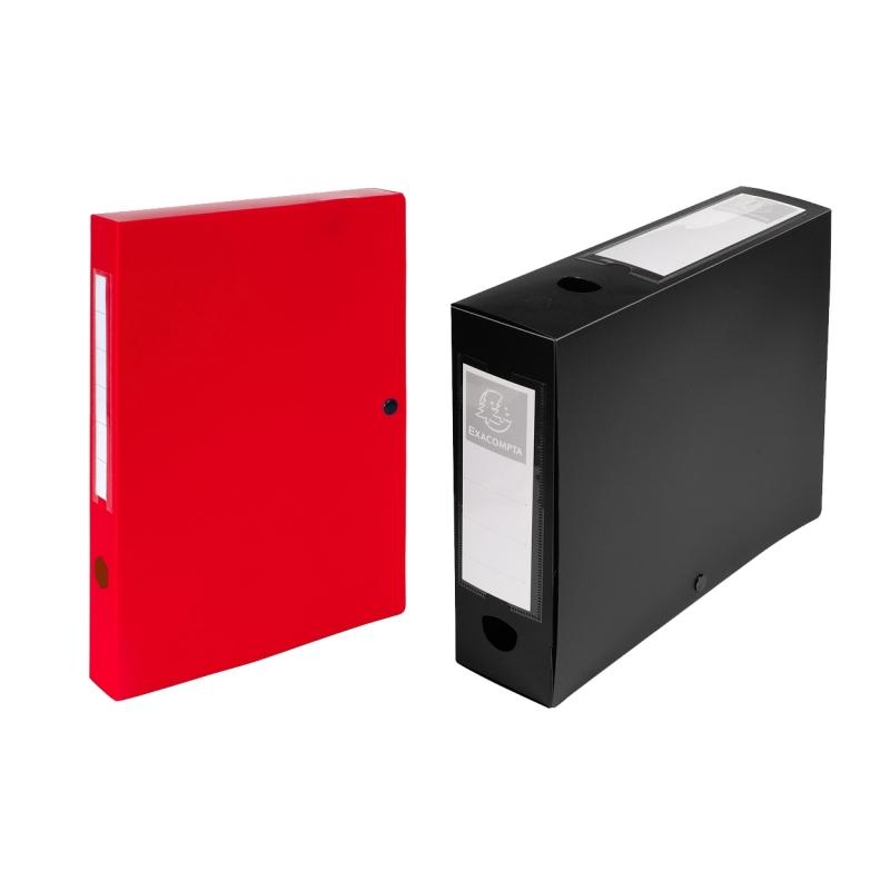 boite de classement a pression dos 40mm polypropylene 7. Black Bedroom Furniture Sets. Home Design Ideas