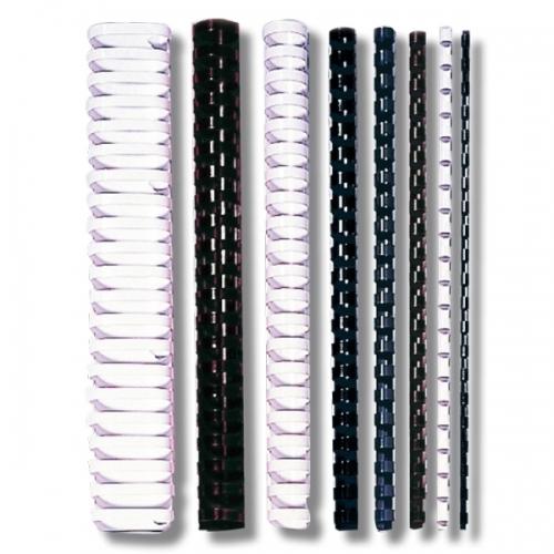 RELIURES PLASTIQUE - DIAMETRE : 6 à 19 mm