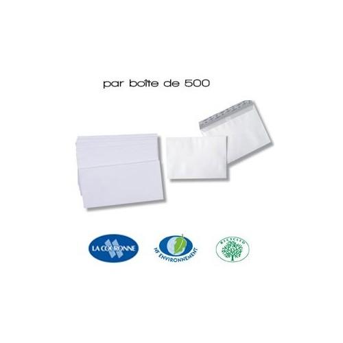 Enveloppes VELIN Blanc